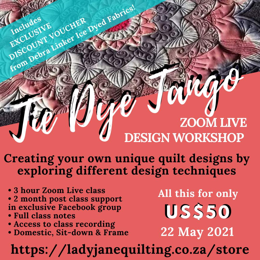 Tie Dye Tango Design Class