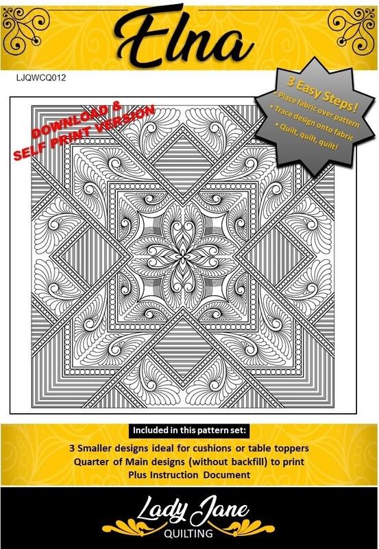 ELNA - Wholecloth Design
