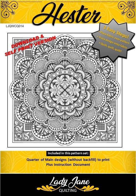 HESTER - Wholecloth Design