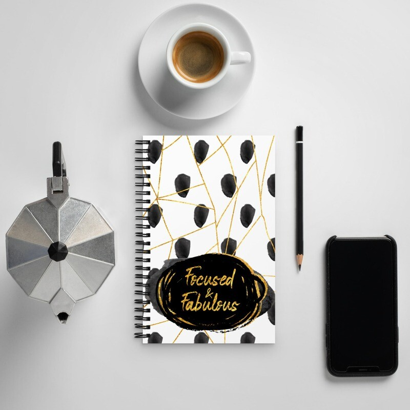 Spiral notebook - Focused & Fabulous