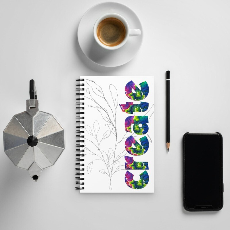 Spiral notebook - CREATE