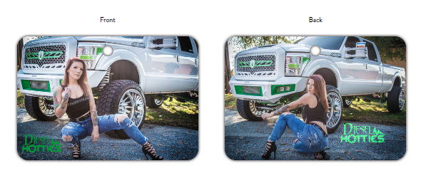 Truck Air Freshener Power Stroke (Angiee)