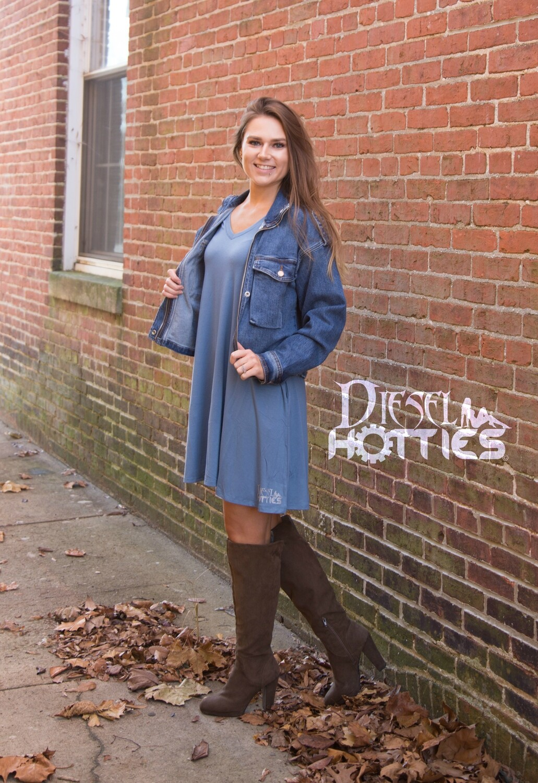 DH Pocket Tank Dress (Blue)