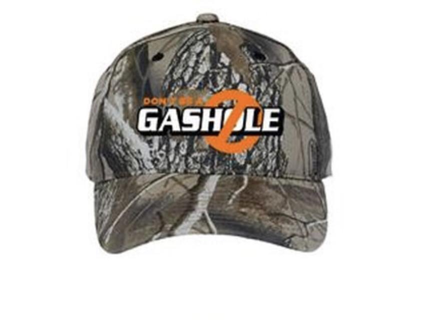 DBAG Camo/Orange Hat