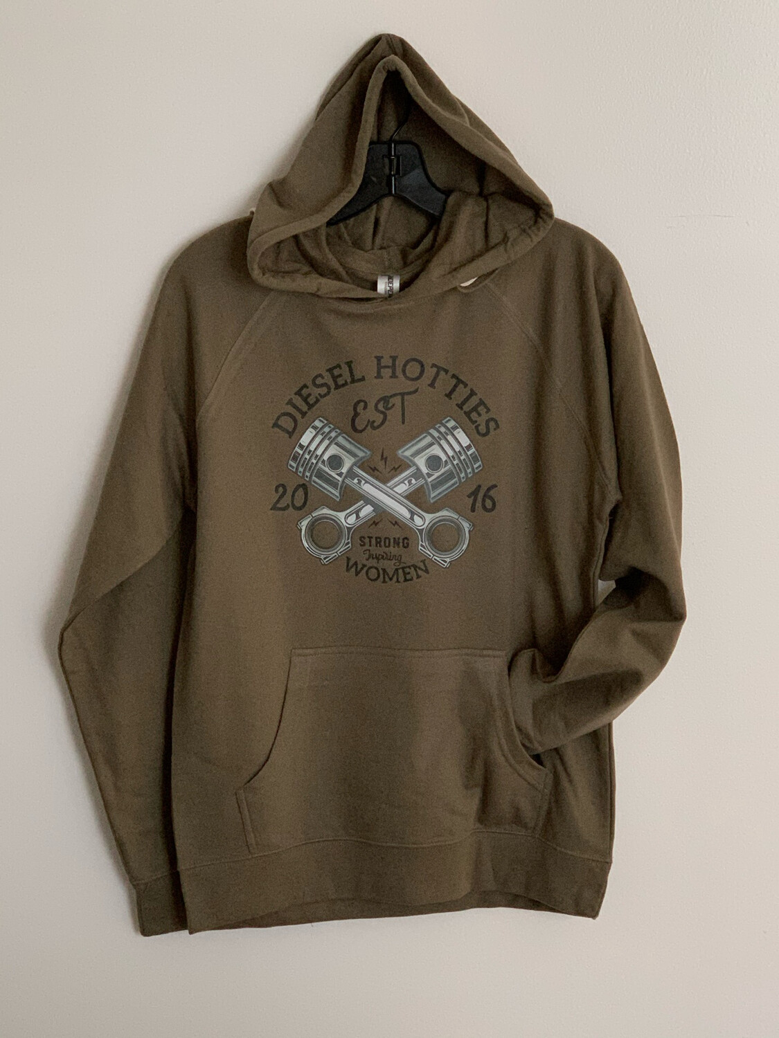 DH Piston Hoodie (Olive)
