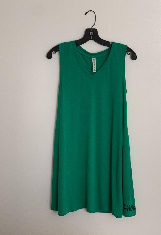 DH Pocket Tank Dress (green)