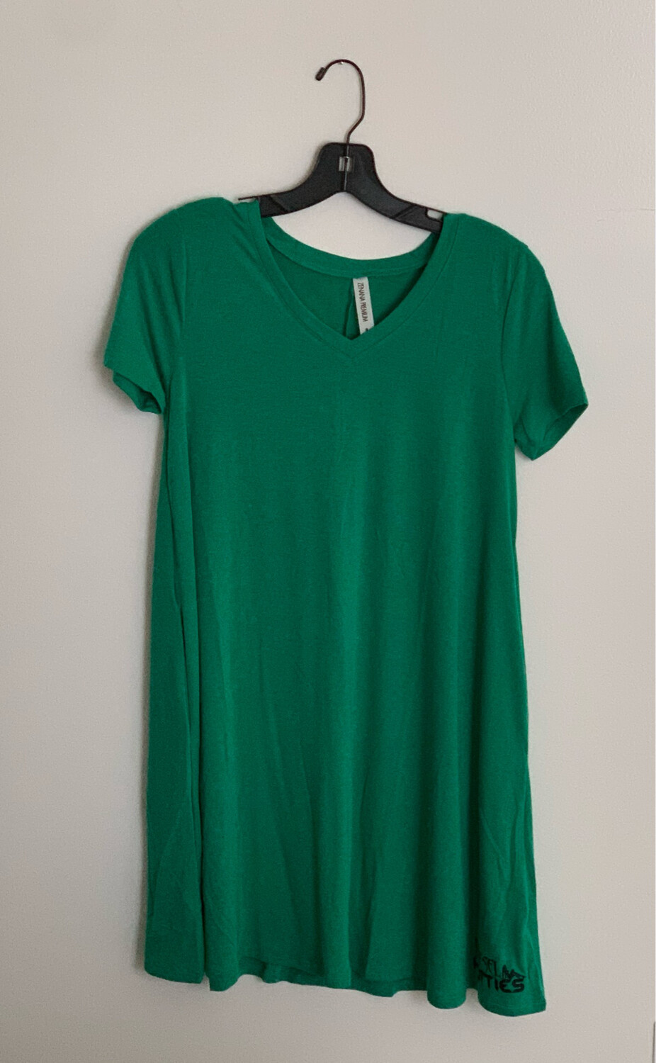 DH Pocket Short Sleeve Dress (Green)