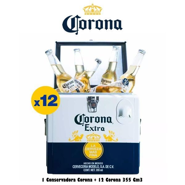 Cooler + 12 Corona 330cm3