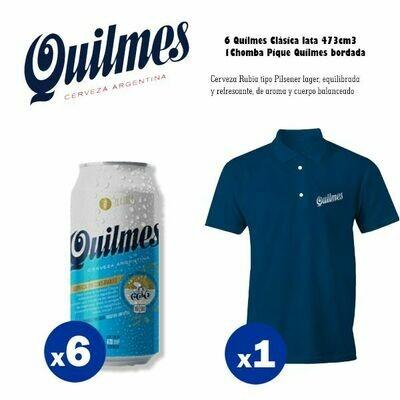 Quilmes Chomba + 6 Latas Quilmes