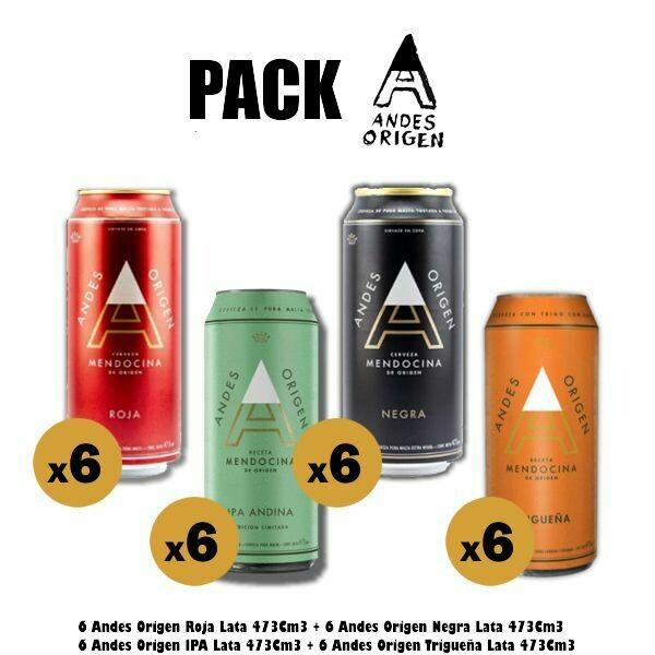 Pack - ANDES ORIGEN x24