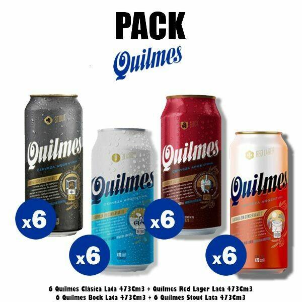 PACK Latas Quilmes x24