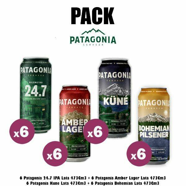 PACK Patagonia Lata x24