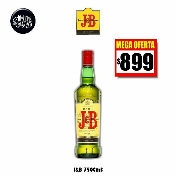 MEGA OFERTA - Whisky J&B  750cc