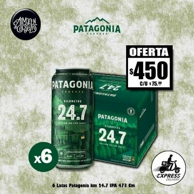 OFERTA -6 Latas Patagonia 24.7Km 473Cm3-Opción Express