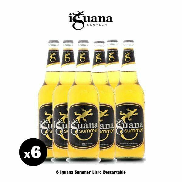 Iguana Summer Litro x 6- Opción Express