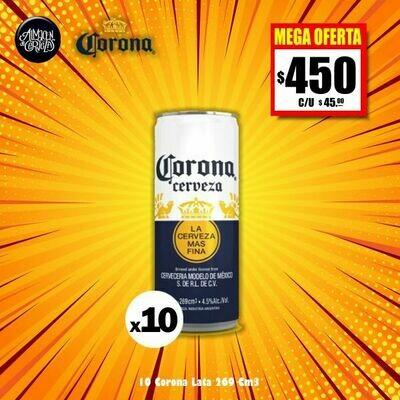 MEGA OFERTA -CORONA Lata 269 Cm3 x10- Opción Express