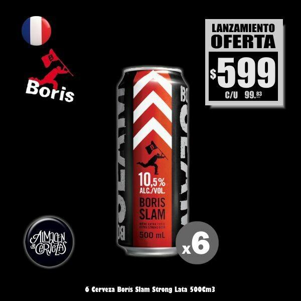 LANZAMIENTO - 6 Boris Slam Lata 500Cm3