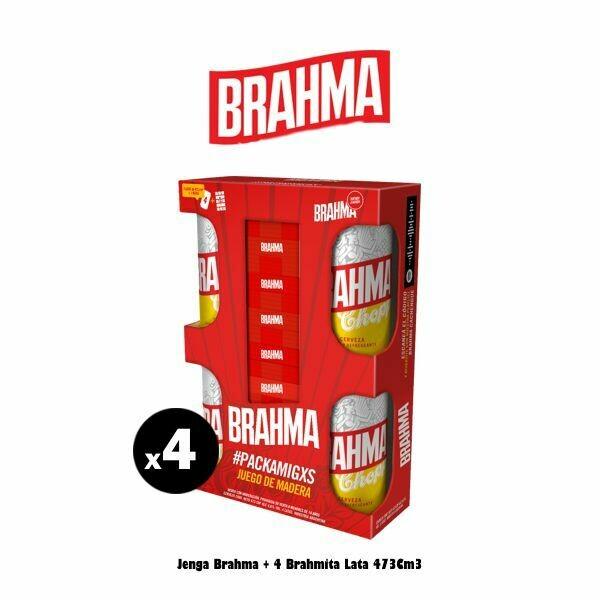 JENGA Brahma + 4 Latas Brahma