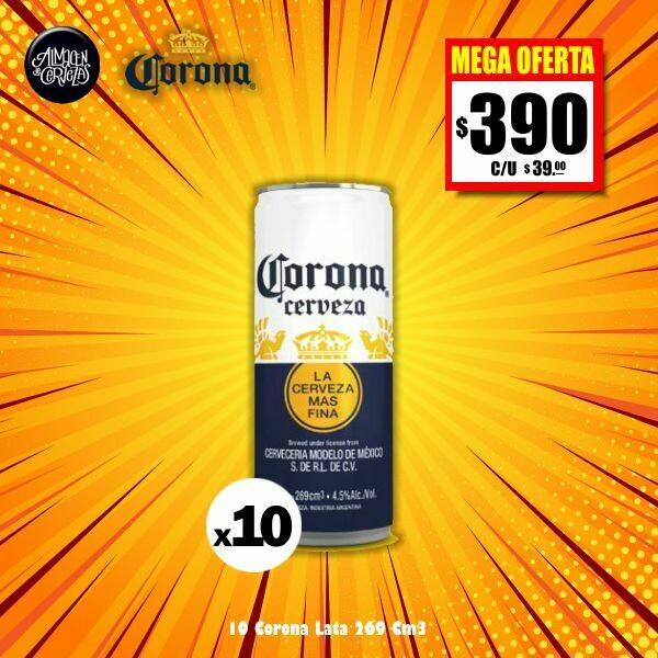 MEGA OFERTA - Corona Lata 269 Cm3 x10- Opción Express