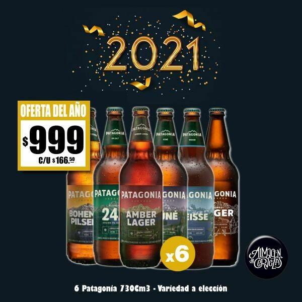 2021 - Patagonia 730 Cm3 x6