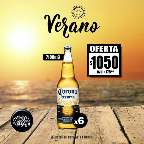VERANO - Corona 710Cm3 x6