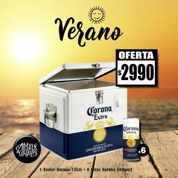 VERANO - Cooler Corona + 6 Corona 269Cm3
