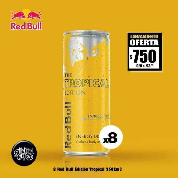 LANZAMIENTO - Red Bull Tropical Edition 250Cm3 x 8