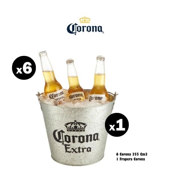 Frapera Corona + 6 Corona 330Cm3