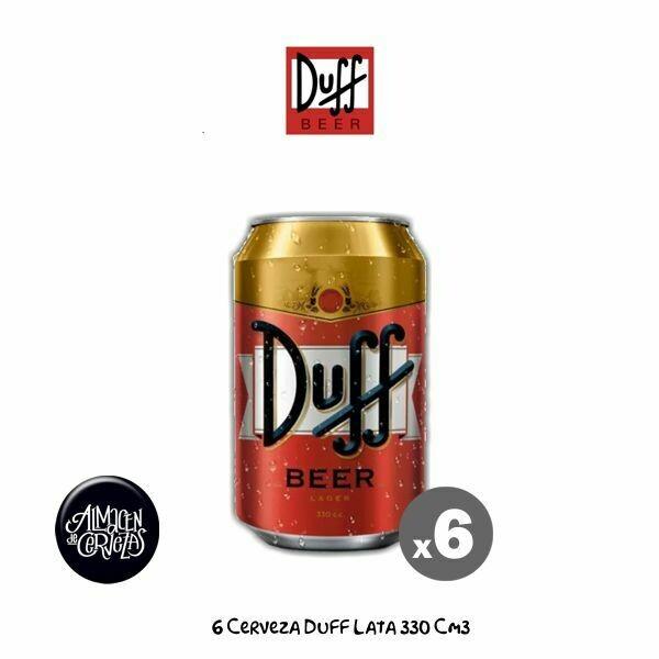 6 Latas Duff 330Cm3