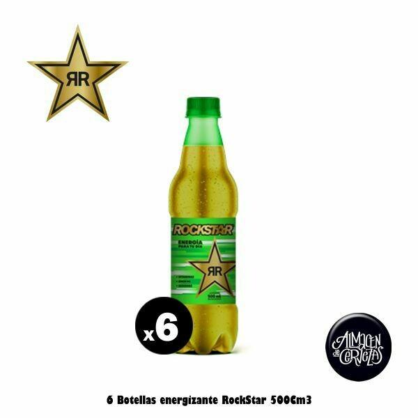 RockStar energizante x6