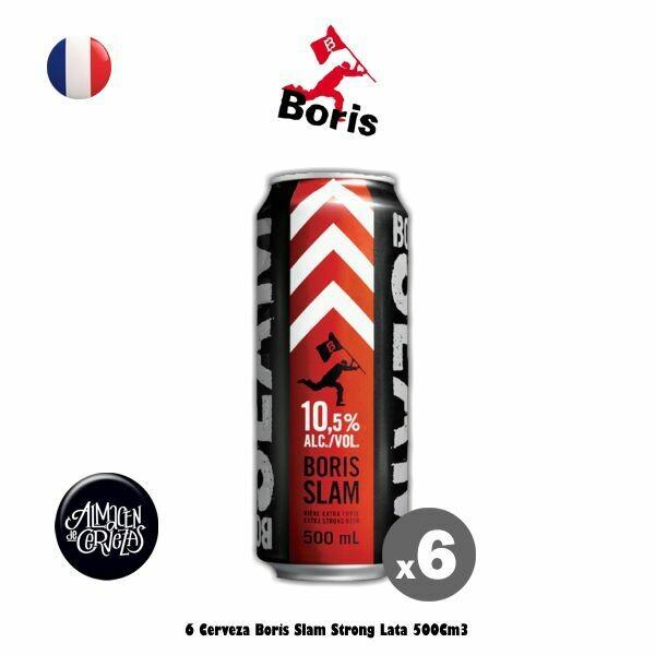 6 Boris Slam Lata 500Cm3