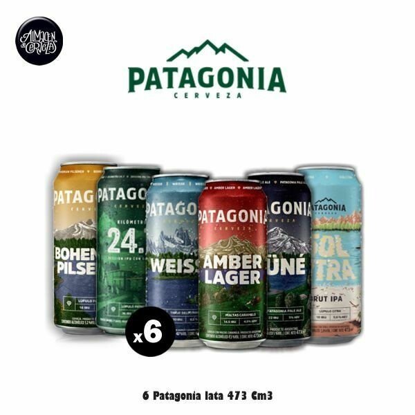 Patagonia Lata 473 Cm3 x6