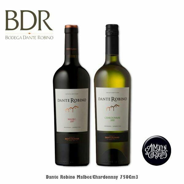 Dante Robino 750Cm3 Malbec o Chardonnay
