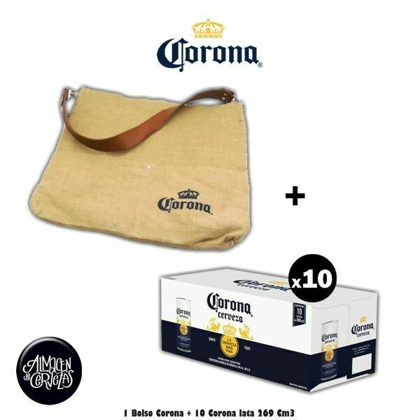 Bolso Corona + 10 Corona Lata 269Cm3