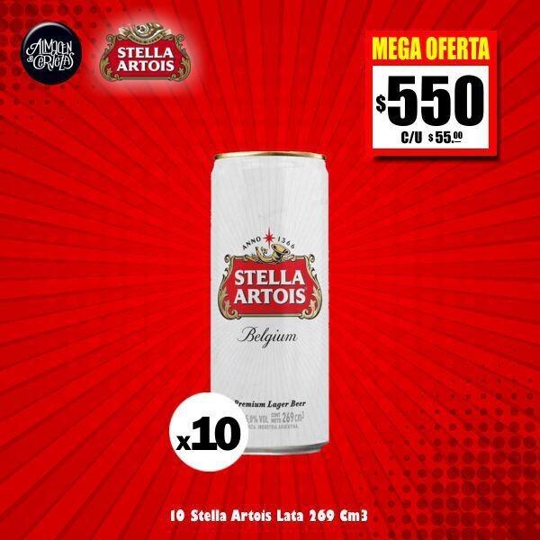MEGA OFERTA - 10 Latas Stella 269Cm3. Envío GRATIS Express (Bolívar)