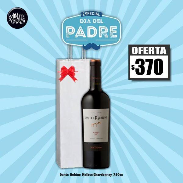DIA DEL PADRE - Dante Robino 750Cm3 Malbec o Chardonnay