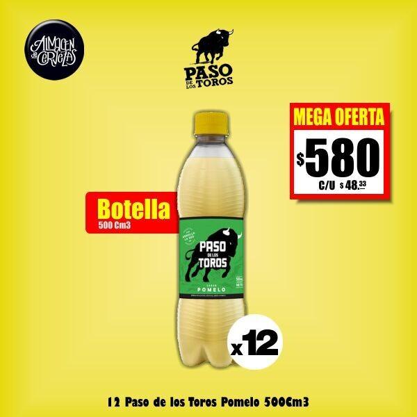 MEGA OFERTA - Paso de los Toros Pomelo 500Cm3 x12