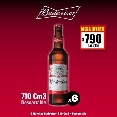Budweiser 710Cm3 x 6.