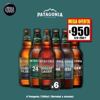 MEGA OFERTA - Patagonia 730 Cm3 x6.