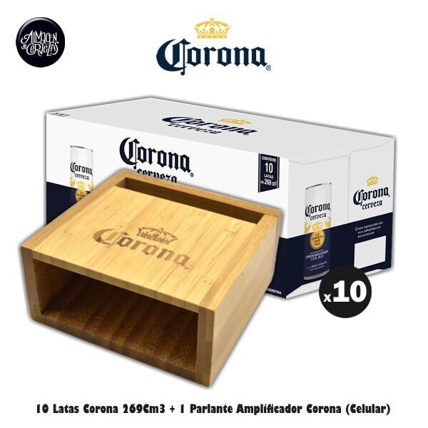 Parlante Amplificador Corona + 10 Corona 269Cm3