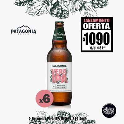 LANZAMIENTO - 6 Patagonia Vera IPA 730Cm3.