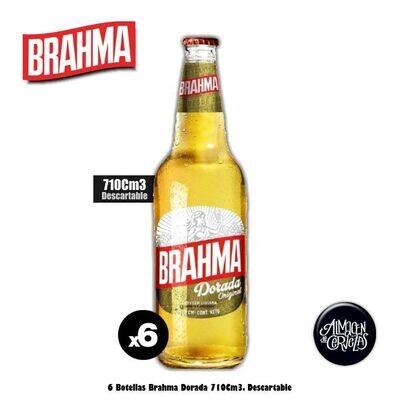 Brahma Dorada 710Cm3 x 6.