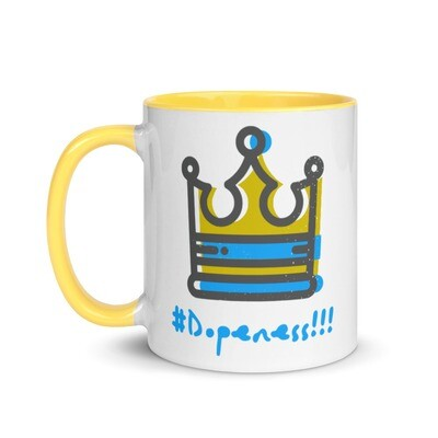 Hashtag Dopeness Mug with Color