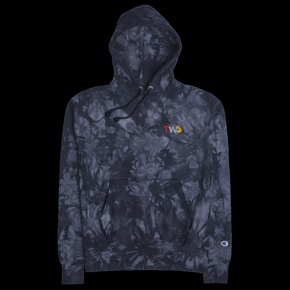 TWS Champion tie-dye hoodie