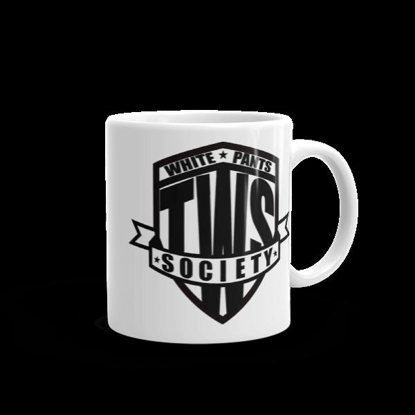 Double logo mug - Black and White