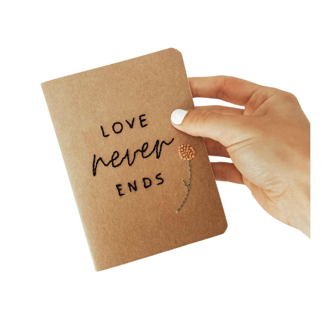"""Love Never Ends"" Journal"