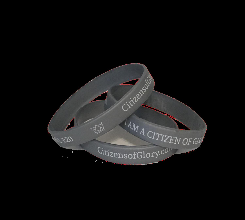 Gray Wristband
