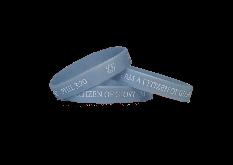 Light Blue Wristband