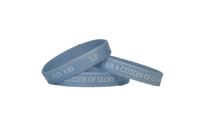 Light Blue Wristband