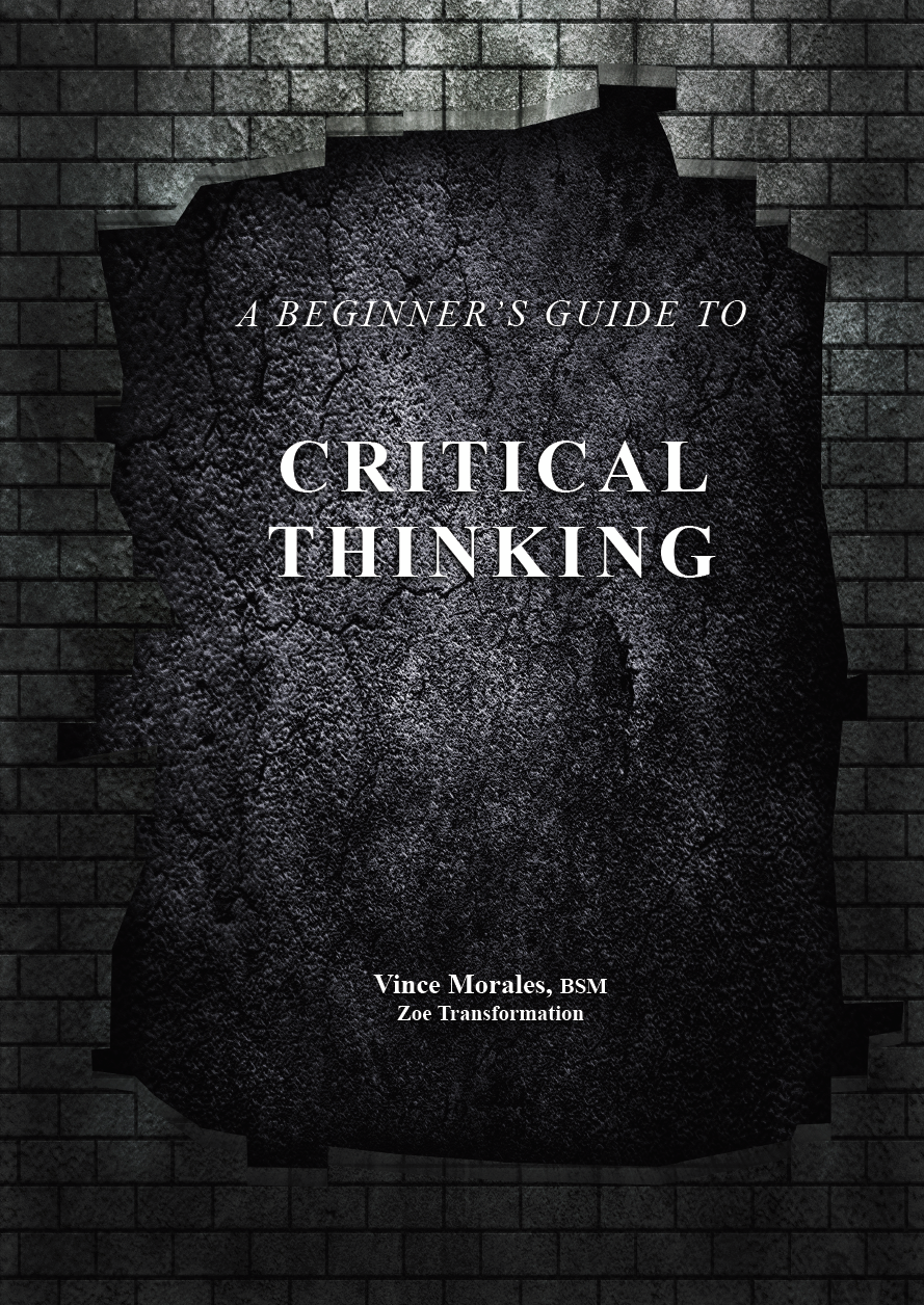 A Beginners Guide to Critical Thinking by Vince Morales